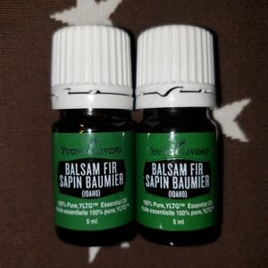 Young Living Oil Idaho Balsam Fir 5ml NEW LOT OF 2